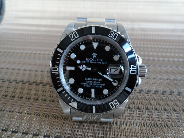 Rolex Submariner Replica – Stainless Steel, Black Dial