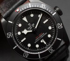 Steel Men's Tudor Heritage Black Bay Dark Replica Watches