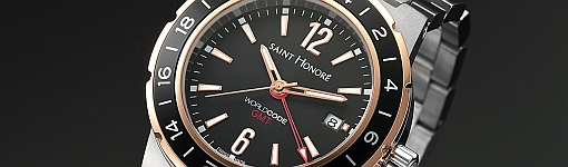 Saint Honore Worldcode GMT Quartz