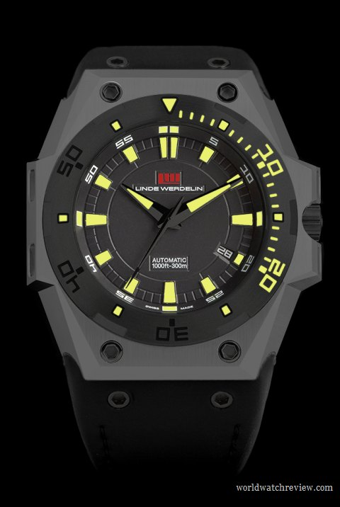 Linde Werdelin (The One) Hard Grey DLC Limited Edition automatic watch