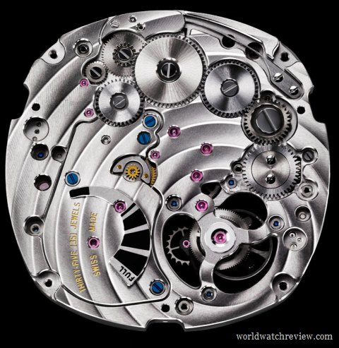 Piaget Calibre 1270P automatic tourbillon movement (base plate)