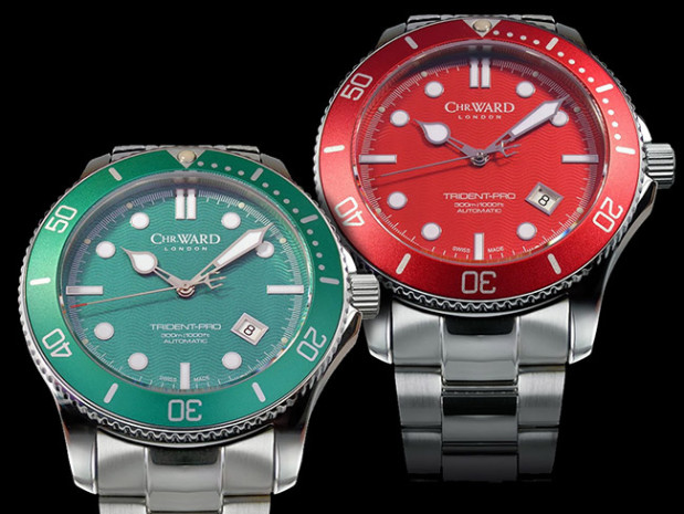 New Colors of Christopher Ward C60 Trident Pro 600 Replica Watches