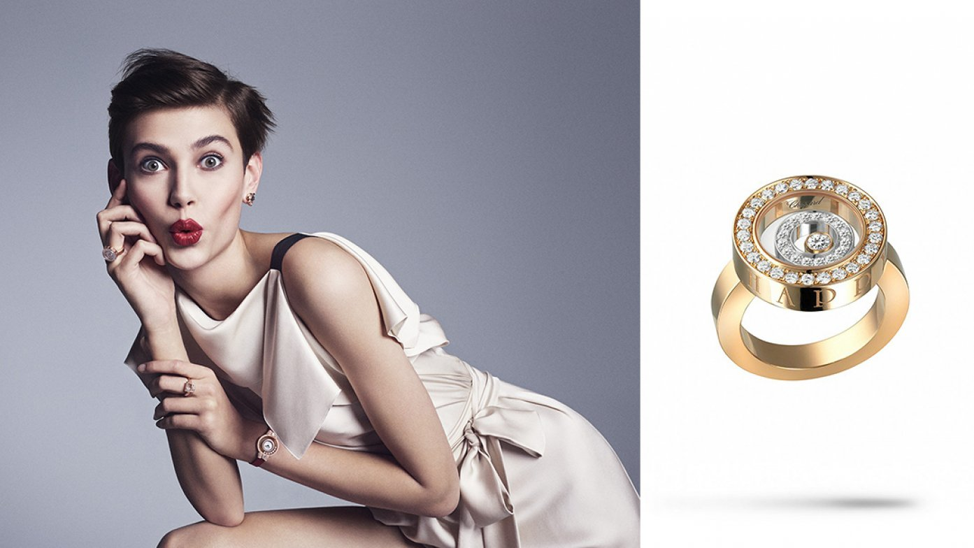 An Ode to the Free-Spirited Woman: Chopard Unveils Happy Diamonds Campaign