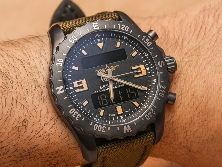 Breitling Chronospace Military Watch Hands-On