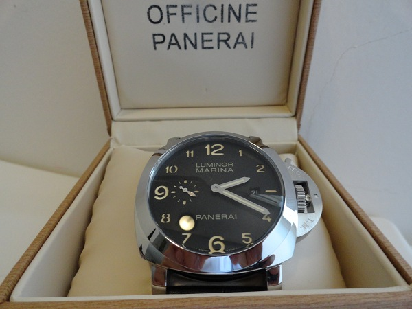 Panerai Luminor Marina Fake Watch Photo Review