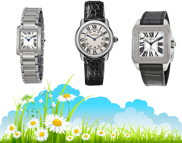Fake Cartier Watches To Help You Celebrate Spring