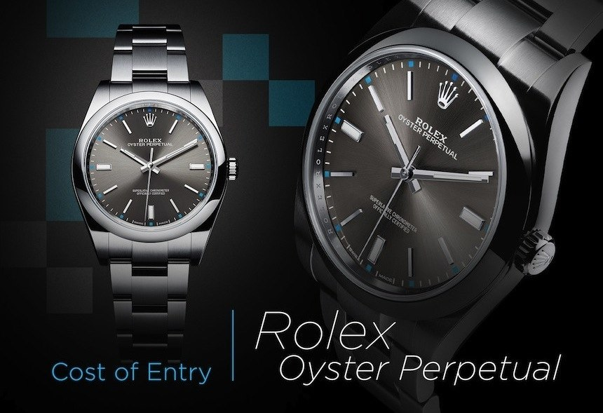 Cost Of Entry: Rolex Replica Watches