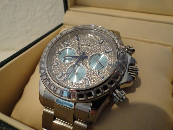 Rolex Daytona Diamonds Fake Watch Review