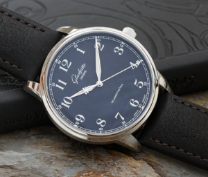 Steel Glashutte Original Senator Black Dial Replica Watches