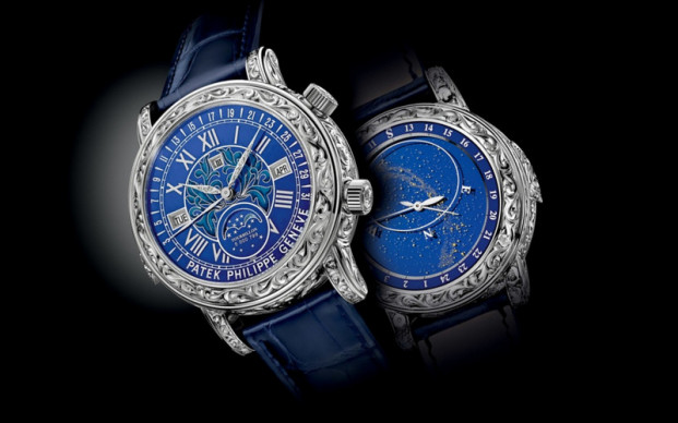 Blue Dial Patek Philippe Sky Moon Tourbillon Replica Watch Ref. 6002