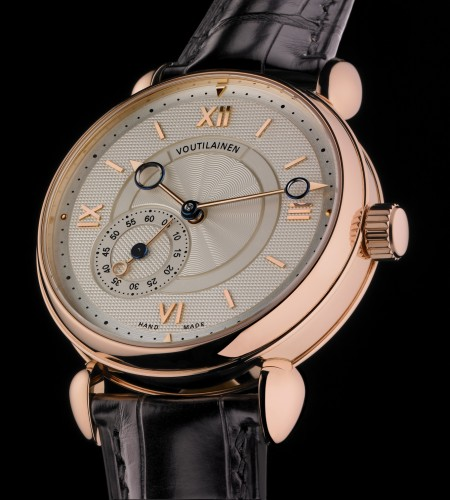 Rose Gold Voutilainen Tourbillon Small Seconds Replica Watch