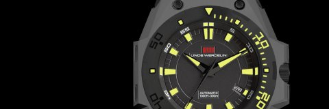 Swiss Mens Linde Werdelin The One Hard Grey DLC Watch Replica