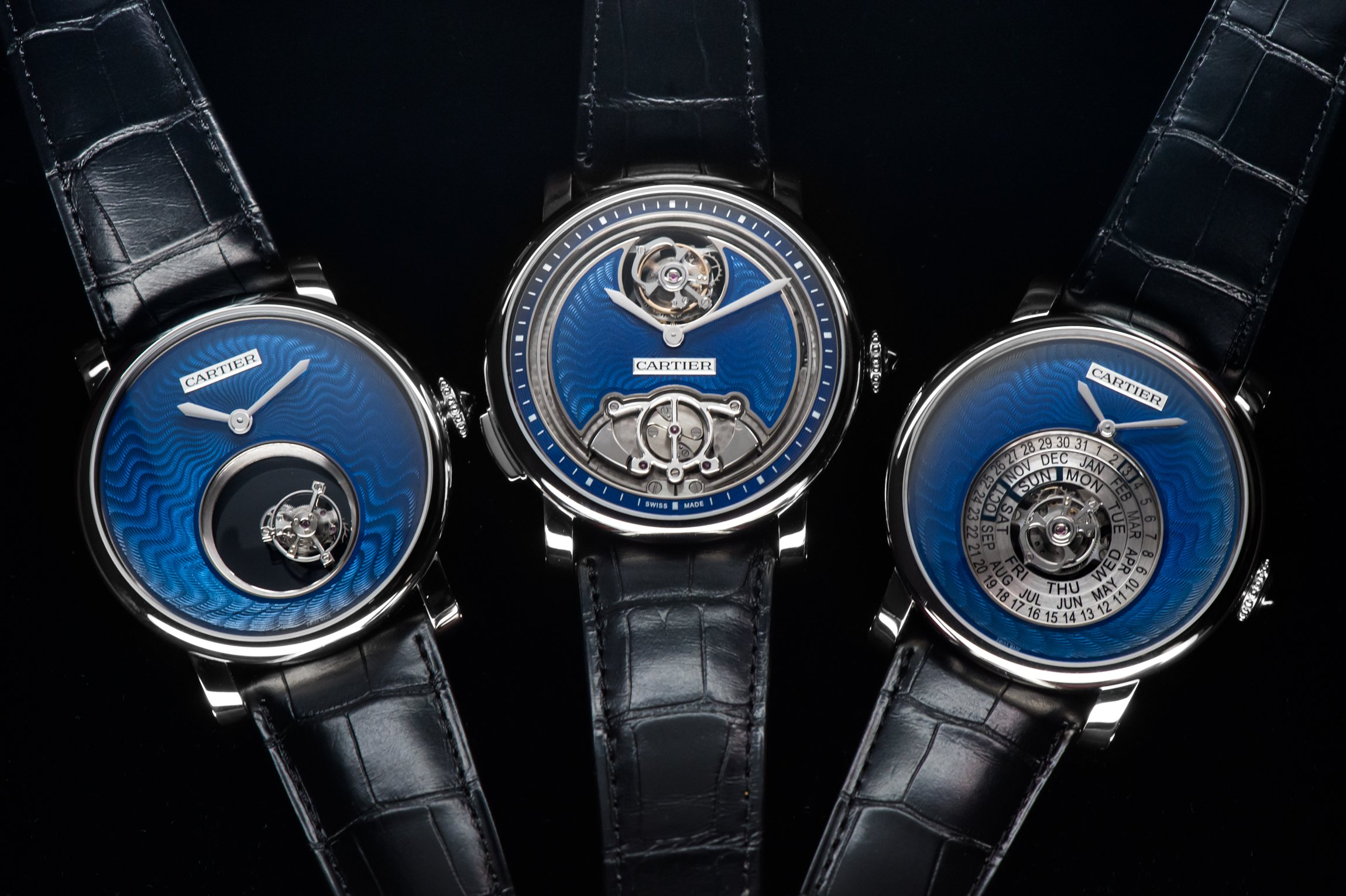 "Revieing Rotonde de Cartier ""Fine Watchmaking"" Trilogy Replica Watch"