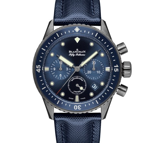 Blancpain Fifty Fathoms Ocean Commitment Bathyscaphe Chronograph Flyback Diver Replica Watch
