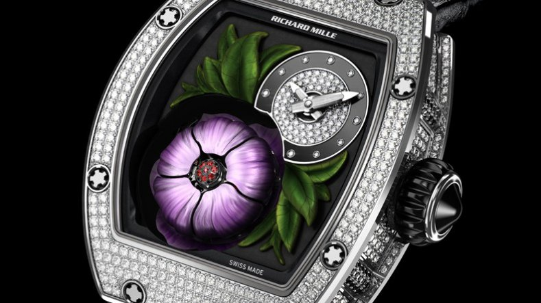 The Cheap Price Diamonds Richard Mille RM 19-02 Tourbillon Fleur Replica Watch