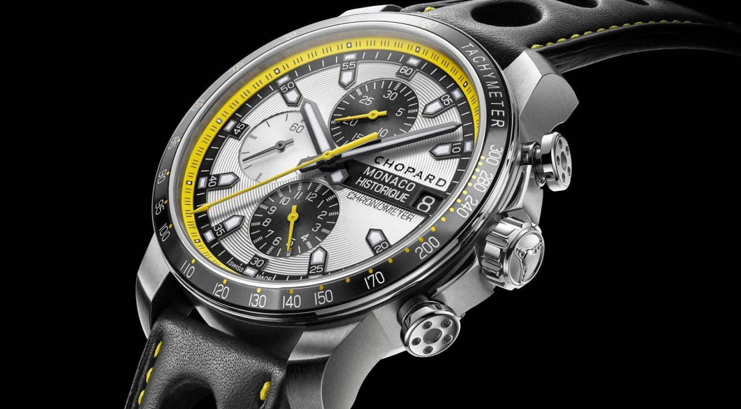 2014 Hand-on Swiss Chopard Replica Grand Prix de Monaco Historique Chrono Watch
