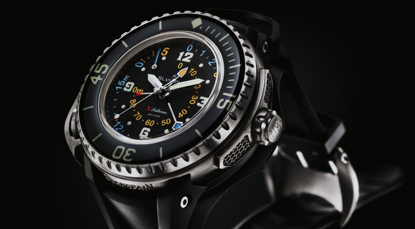 Reviewing The Blancpain X Fathoms 300M Diver Replica Watch with Depth Gauge (Ref. 5018-1230-64)