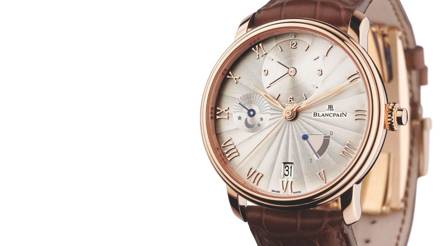 Hands-on With My Rose Gold Blancpain Replica Villeret Demi-Fuseau Horaire GMT Watch