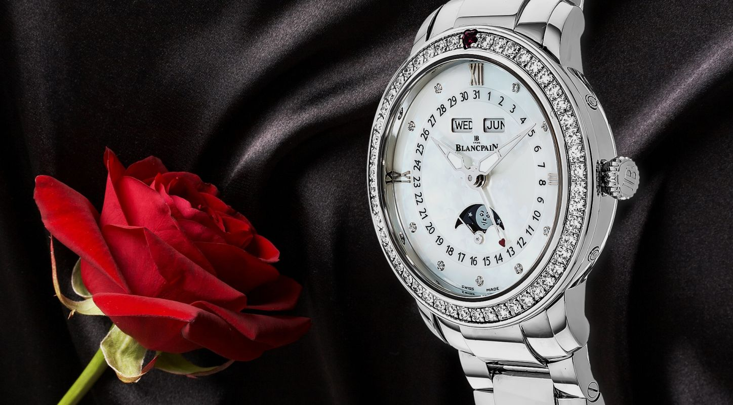 The Elegant Blancpain Saint-Valentin 2011 Complete Calendar Ladies Watch Replica (Ref. 3663-4654-55B)