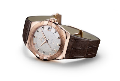 The Awesome 18k Rose Gold Omega Constellation Sedna Replica Watch For Sale