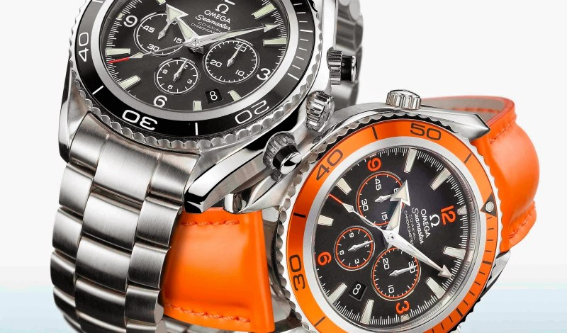 Closer Look At The Omega Seamaster Planet Ocean Chronograph Replica Watch For Sale