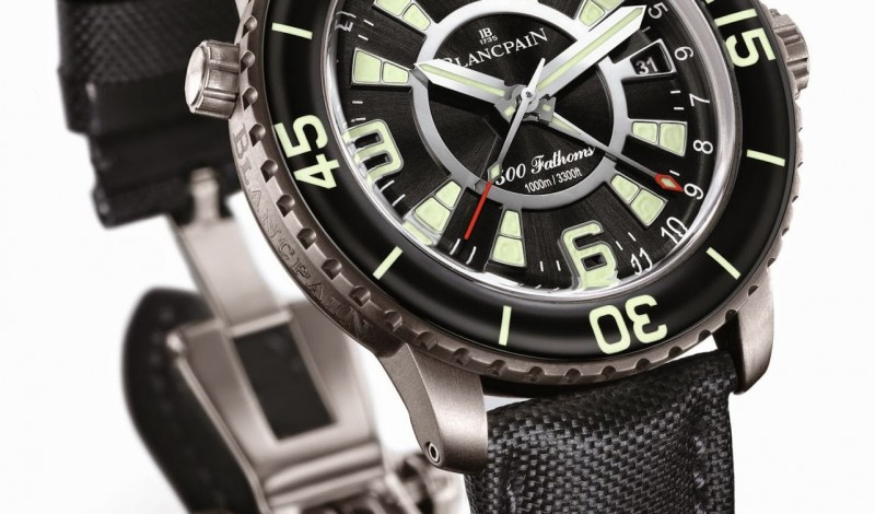Promotion: The Masculine Blancpain 500 Fathoms GMT Copy Watch