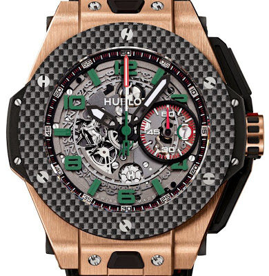 Promotion: The Masculine Titanium Hublot Big Bang Ferrari Mexico Copy Wath