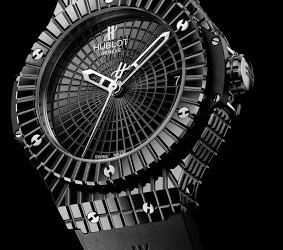The Perfect Black Ceramic Hublot Replica Big Bang Black Caviar Watch For Sale