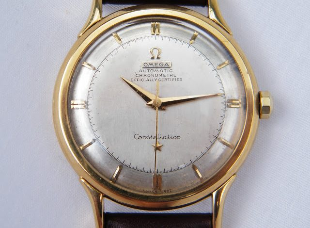 Reviewing The Vintage 18 Karat Gold Omega Constellation Replica Watch For Men