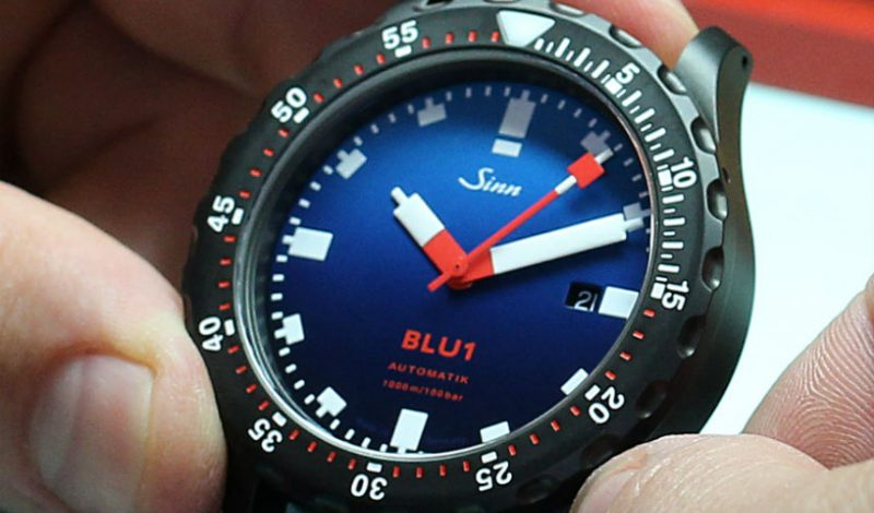 High Grade Sinn BLU1 Limited Edition Watch For Page & Cooper Replica Wholesale Suppliers