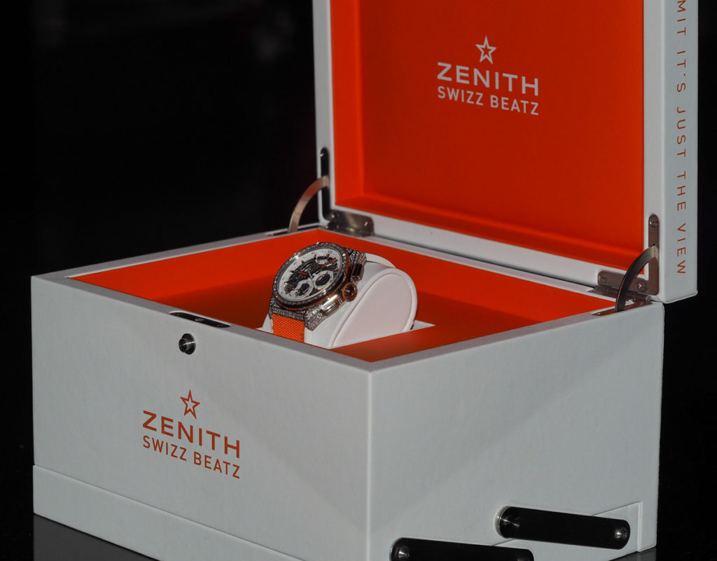 Interview With Swizz Beatz & His New Zenith pilot watch 48mm Replica Defy El Primero 21 Limited Edition Watch ABTW Interviews