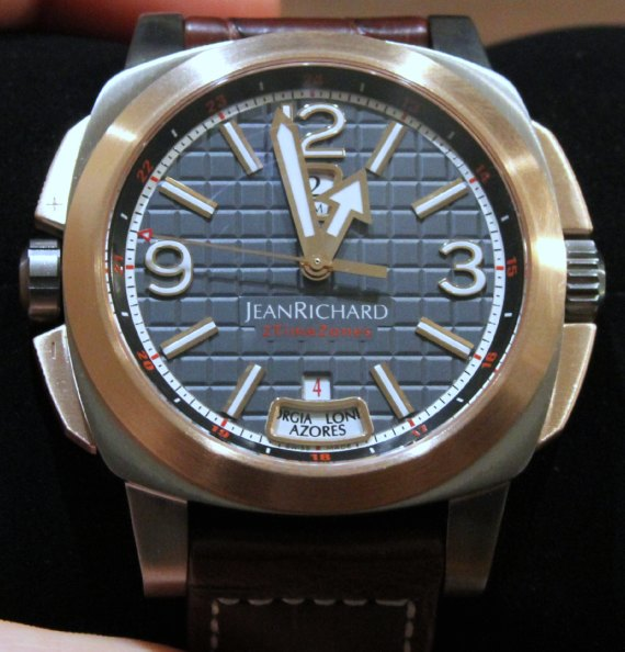 JeanRichard 2TimeZones Watches Watch Releases