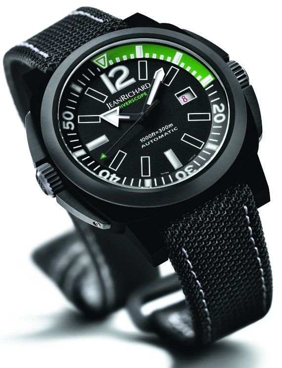 JeanRichard Diverscope JR1000 Diving Watch Watch Releases