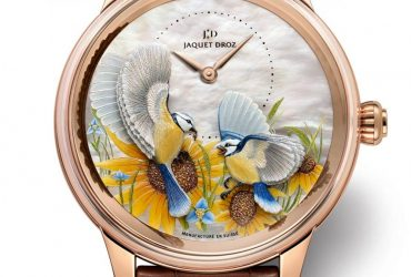 Jaquet Droz – A luminous Petite Heure Minute Relief Seasons Summer Replica Wholesale