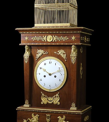 Jaquet Droz – Restoration of the singing bird pendulum clock Replica Watches Young Professional