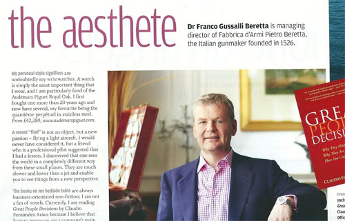 Replica Guide Trusted Dealers Personal Style Signifier Of Franco Gussalli Beretta
