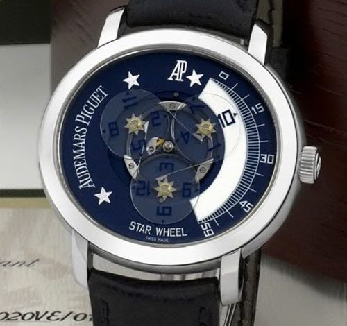 Replica Guide Trusted Dealers Audemars Piguet Star Wheel 125th Anniversary – Auctioned At Antiquorum For CHF 17500