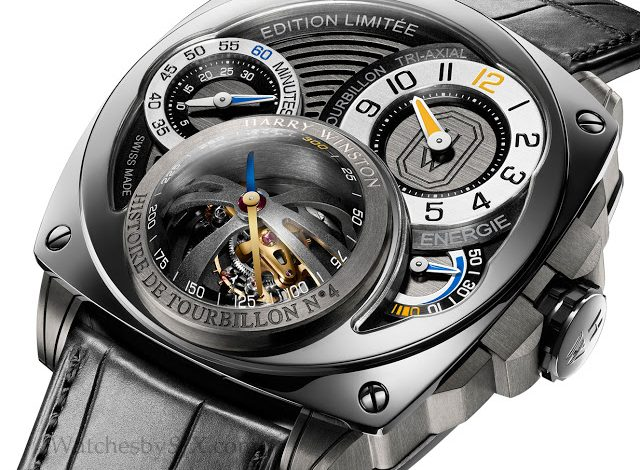 Replica Wholesale Baselworld 2013: Harry Winston Histoire de Tourbillon 4