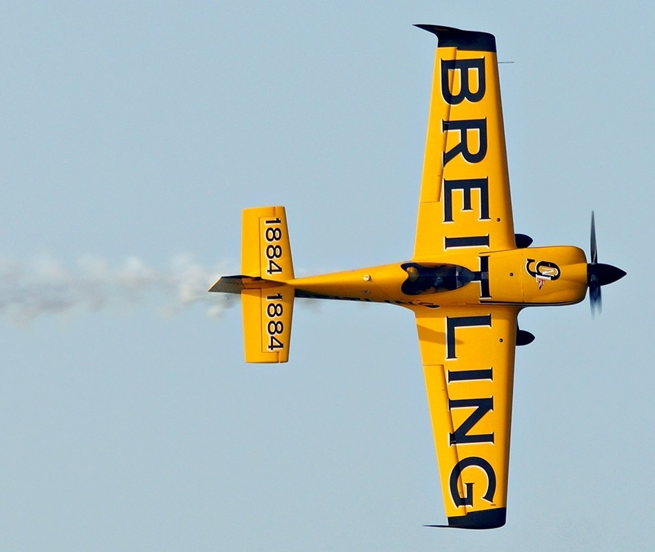 Put On Your Breitling And Keep Up With The Red Bull Air Race