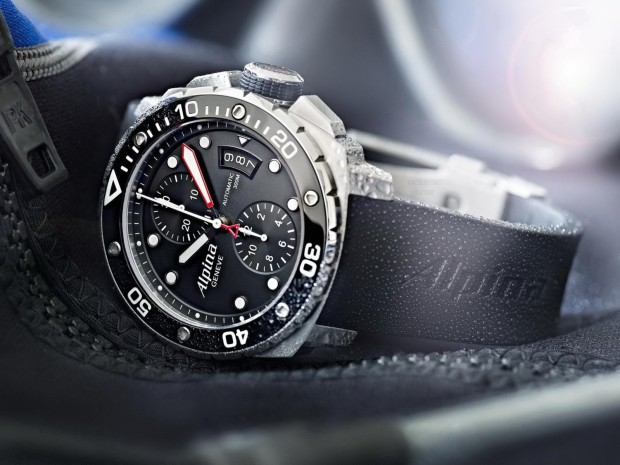 Alpina Extreme Diver 300 Chronograph Automatic Steel Copy Watch
