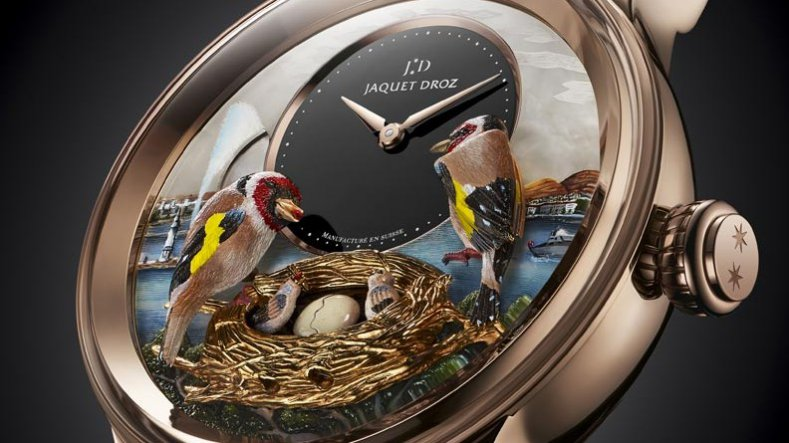 Introducing The Best Replica Jaquet Droz Les Ateliers D'art The Bird Repeater Timepiece