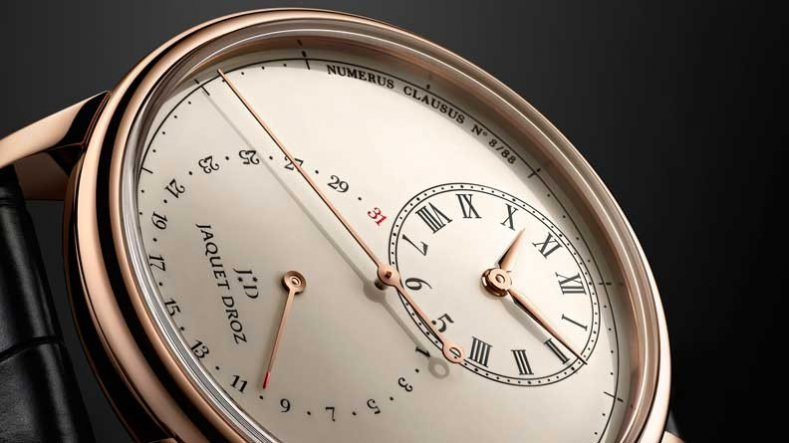 Closer Look At The Rose Gold Jaquet Droz Grande Seconde Deadbeat Watch in Cheap Price