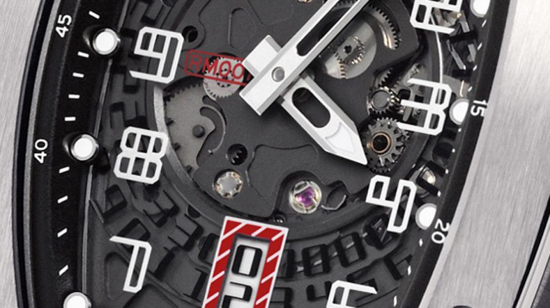 The Strength and Elegance Replica Richard Mille RM007 Ladies Titalyt Watch
