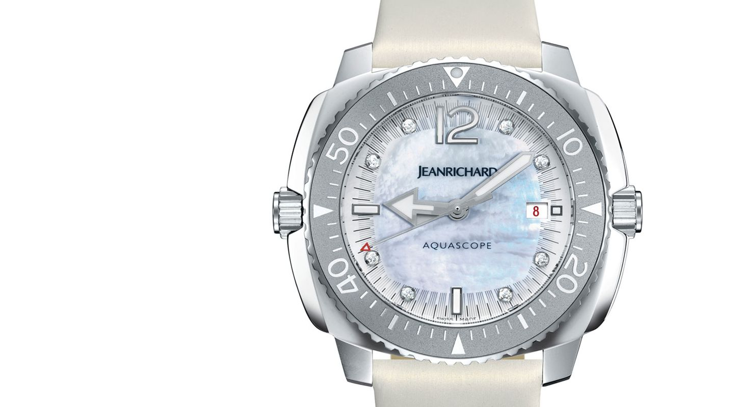 Review The High Quality JeanRichard Aquascope Lady Day Watch Replica