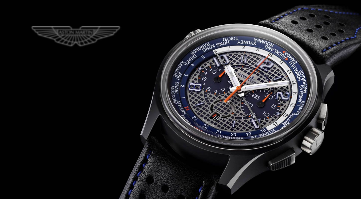 Awesome Fake Jaeger-LeCoultre AMVOX5 World Chronograph Watch for Mens