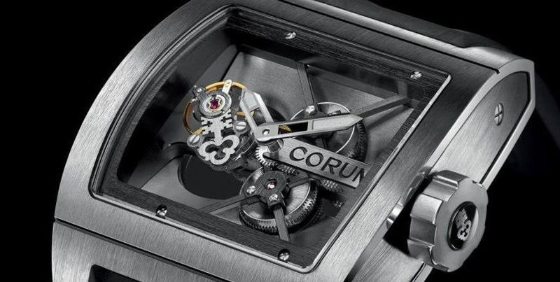 Promotion: The Masculine Corum Ti-Bridge Tourbillon Replica Watch