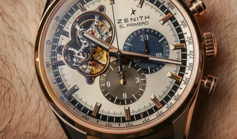 We Buy Zenith Chronomaster El Primero Open Gold Watch Hands-On Replica Buying Guide