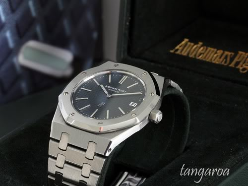 Swiss Movement Replica Watches AP Royal Oak Ref. 5402 'Jumbo' For Sale – Complete With Box And Papers