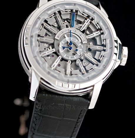 Replica Wholesale Hands-on with the Harry Winston Opus 12 by Emmanuel Bouchet – a complication with 27 hands and 607 parts (with live photos, video and price)
